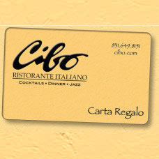 Cibo Gift Card